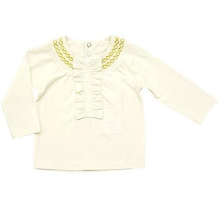 Купить Блузка детская ZEYLAND Smal case Mininio. Цвет: бежевый