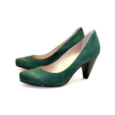 Купить Туфли Klimini «Глория». Цвет: зеленый
