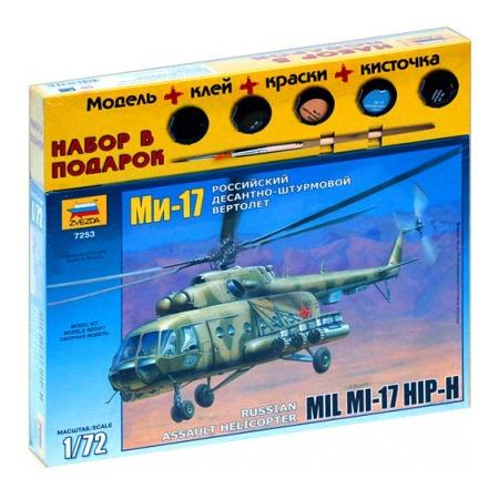 Купить Подарочный набор Звезда вертолет «Ми-8МТ»