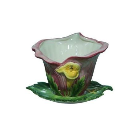 Купить Кашпо декоративное Valenсia «Каллы»