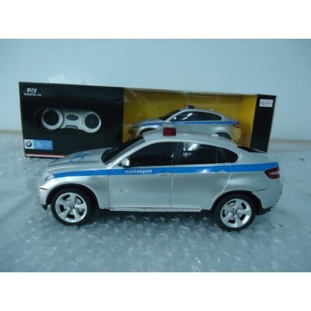 Купить Машина на радиоуправлении Rastar BMW X6 полицейская