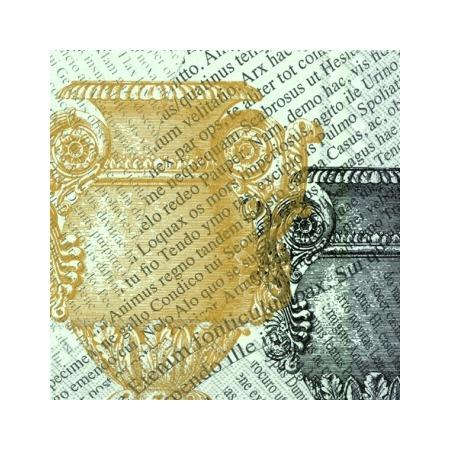 Купить Салфетки бумажные для декупажа IHR «Вазы герцога»