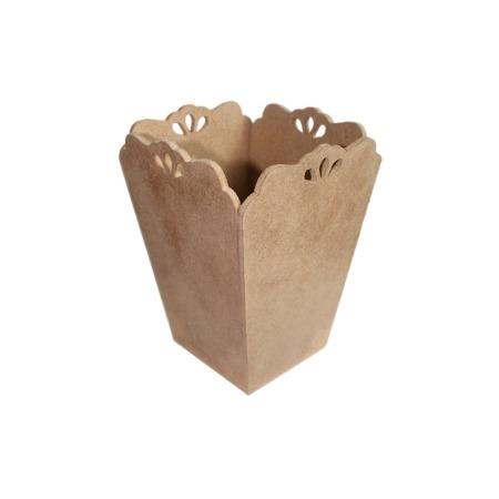 Купить Заготовка из МДФ Ars Hobby Кашпо-ваза с капельками