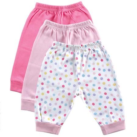 Купить Комплект штанишек Luvable Friends 32020 (3 пр.). Цвет: розовый