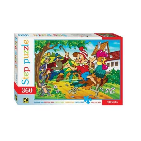 Купить Пазл 360 элементов Step Puzzle Буратино