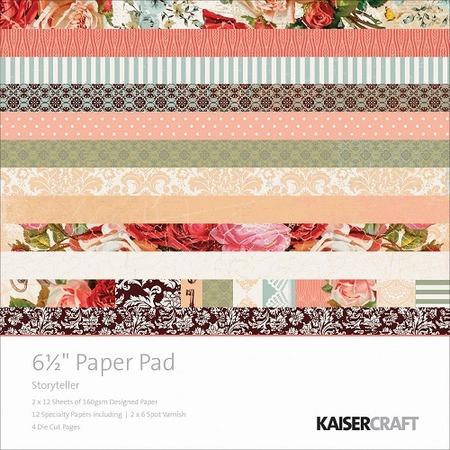 Купить Набор бумаги для скрапбукинга с вырубками Kaisercraft Storyteller