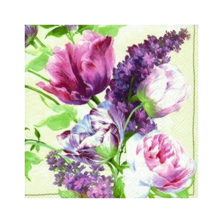Купить Салфетки бумажные для декупажа IHR «Елизаветинский сад»