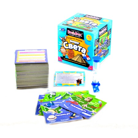 Купить Настольная игра BrainBox Сундучок знаний. Вокруг света