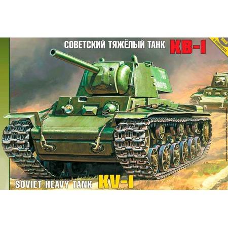 Купить Сборная модель Звезда советский танк «КВ-1»