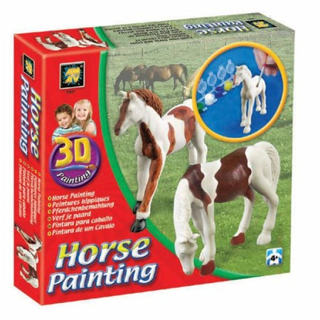 Купить Набор для детского творчества DIAMANT «Разрисуй лошадей» 3D