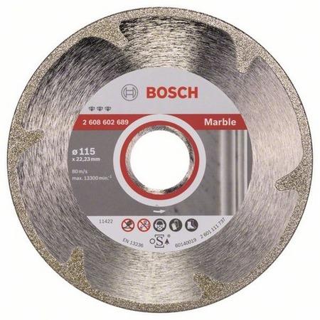 Купить Диск отрезной алмазный для угловых шлифмашин Bosch Best for Marble