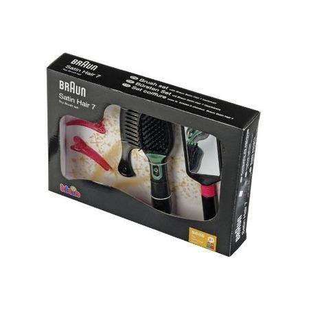 Купить Набор стилиста: расческа с подсветкой и аксессуарами KLEIN Braun Satin Hair