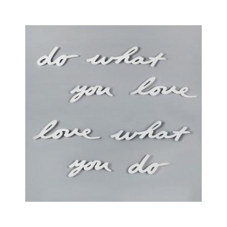 Купить Надпись декоративная настенная Umbra Do What You Love 470170-660