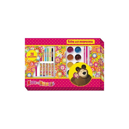 Купить Набор для творчества Маша и Медведь «Цветочная поляна»