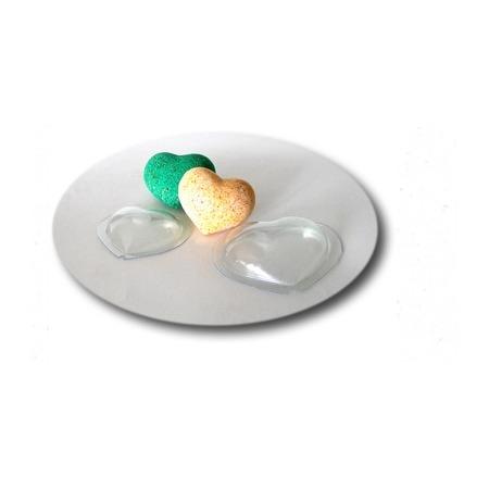 Купить Форма пластиковая для бомбочек Выдумщики «Сердце»