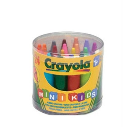 Купить Набор восковых мелков Crayola Jumbo Grayons: 24 цвета