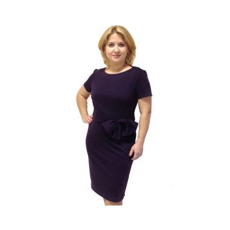 Купить Платье Klimini «Ангелина». Цвет: чернильный