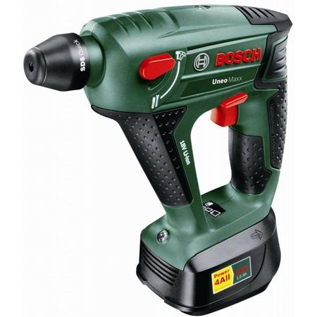 Купить Перфоратор Bosch Uneo Maxx (1 аккумулятор)