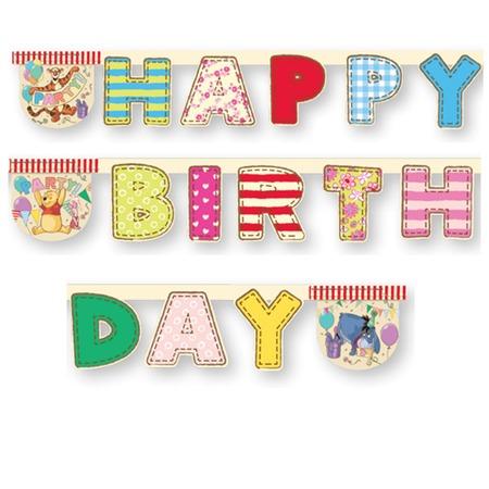 Купить Гирлянда детская Procos «Алфавит Винни-Happy Birthday»