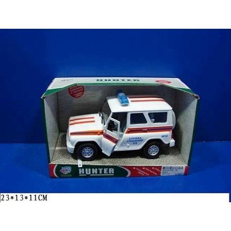 Купить Машина инерционная Joy Toy «УАЗ Hunter - МЧС» Р40513