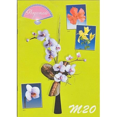 Купить Набор схем для парчмента Pergamano M20 Цветы