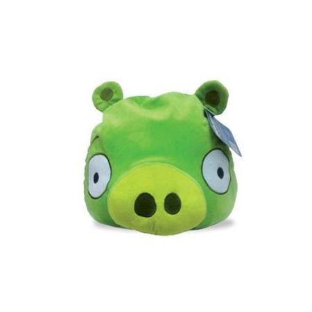 Купить Подушка-игрушка декоративная Angry Birds Green pig
