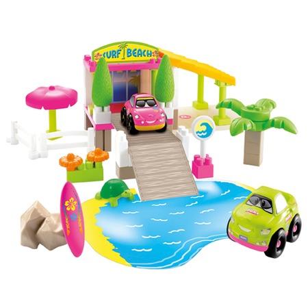 Купить Конструктор Ecoiffier «Surf Beach»