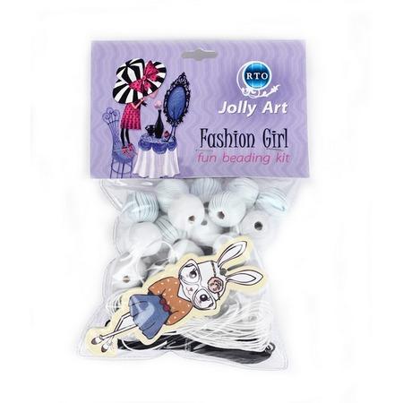 Купить Набор для создания украшений из бусин RTO «Fashion Girl 4»