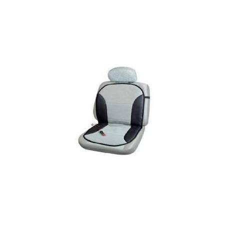 Купить Накидка на сиденье с функцией обогрева черно серая