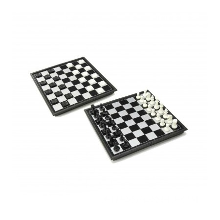Купить Шахматы и шашки магнитные с доской U3 4912-B