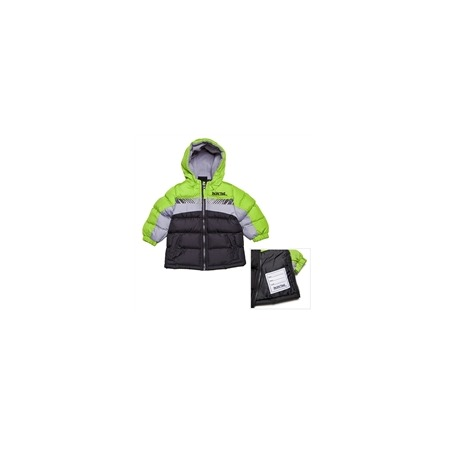 Купить Куртка утеплённая с капюшоном и светоотражающими полосками PacificTrail Black