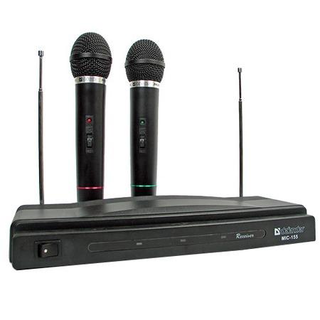Купить Набор беспроводных микрофонов для караоке DEFENDER MIC-155