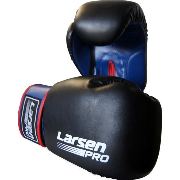 фото Перчатки боксерские Larsen Pro JE-2015. Вес в унциях: 6