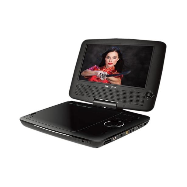 фото DVD-плеер портативный Supra SDTV-922UT. Цвет: черный