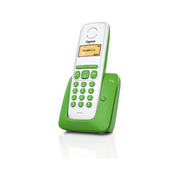 фото Радиотелефон GIGASET A130. Цвет: зеленый