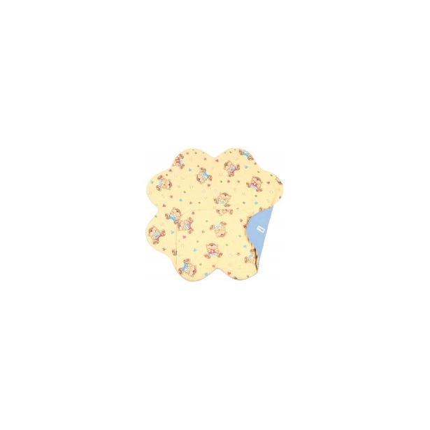 фото Конверт детский Ramili Light Denim Style с прорезями для ремней безопасности. Цвет: желтый