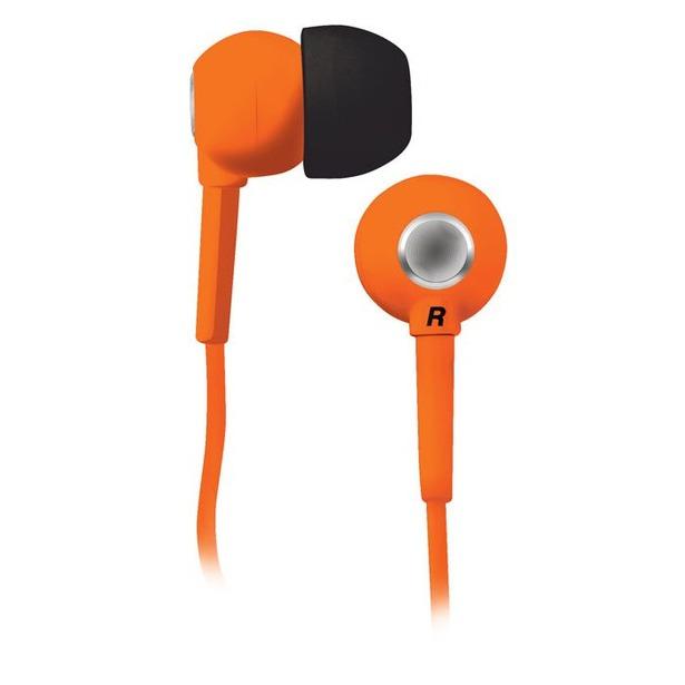 фото Наушники вставные BBK EP-1200S. Цвет: оранжевый