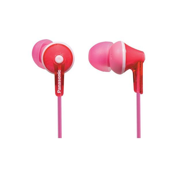 фото Наушники вставные Panasonic RP-TCM125E. Цвет: розовый
