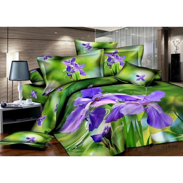 фото Комплект постельного белья Аура «Королевские ирисы». 2-спальный