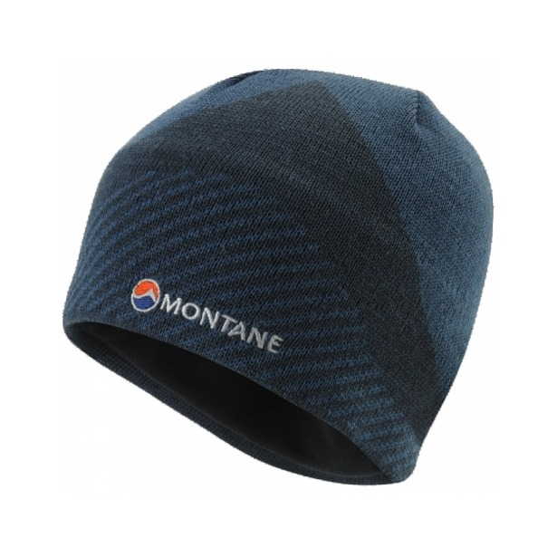 фото Шапка Montane Montane Logo Beanie. Цвет: синий