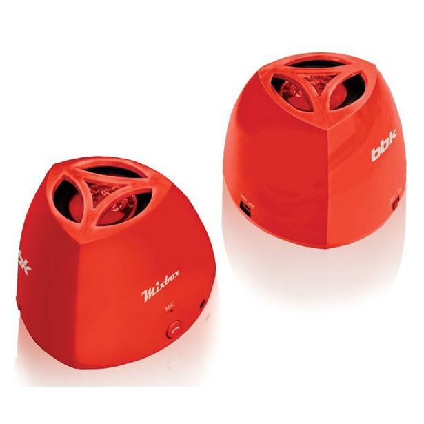 фото Система акустическая портативная BBK BTA100. Цвет: красный