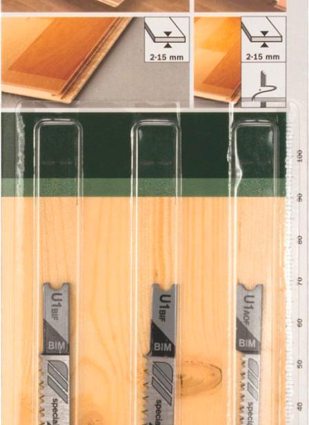 фото Набор пильных полотен Bosch SET U BIM
