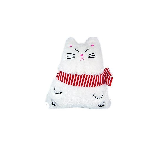 фото Подушка детская Пуффи Белый кот