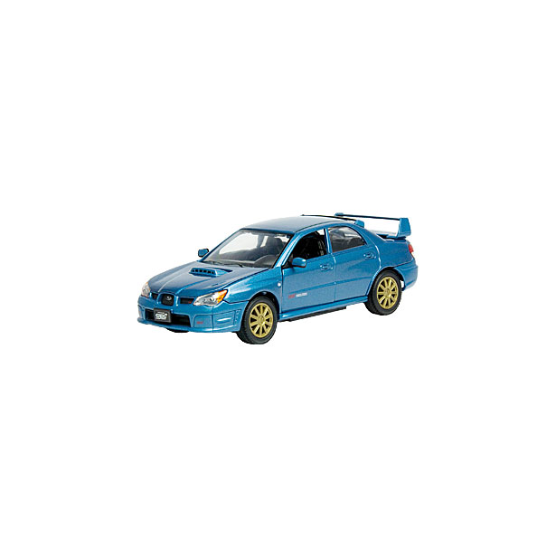 фото Модель автомобиля AUTOTIME Subaru Impreza WRX STI. В ассортименте