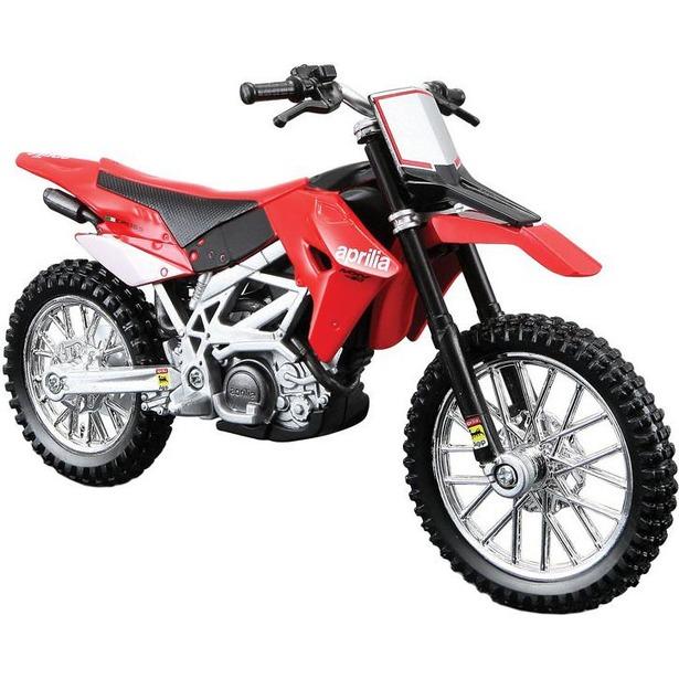 фото Модель мотоцикла 1:18 Bburago Aprilia MXV 450