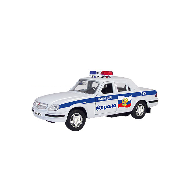 фото Модель автомобиля AUTOTIME ГАЗ-31105 Волга «Охрана МВД»