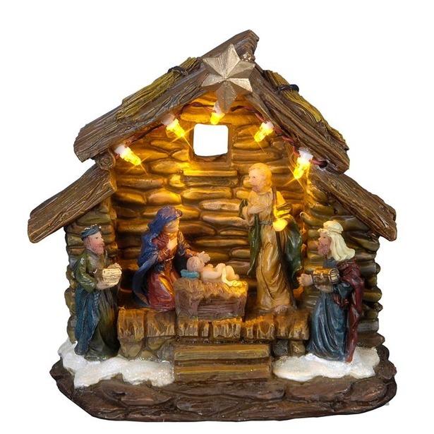 фото Декорация рождественская Star Trading Домик