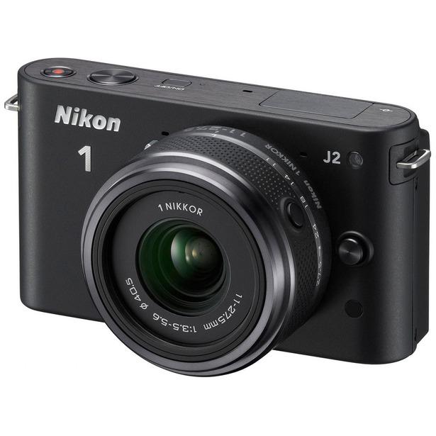 фото Фотокамера цифровая Nikon 1 J2 Kit 11-27.5mm VR. Цвет: черный