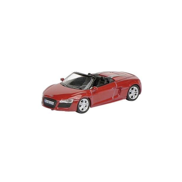 фото Модель автомобиля 1:87 Schuco Audi R8 Spyder. Цвет: красный