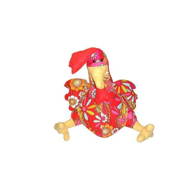 фото Мягкая игрушка Пуффи Курица
